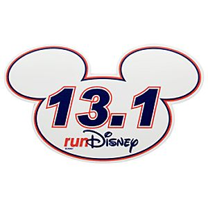 Mickey Mouse Icon Magnet - RunDisney 13.1