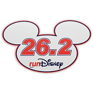 Mickey Mouse Icon Magnet - RunDisney 26.2