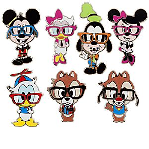 Mickey Mouse Mini Pin Set - Nerds