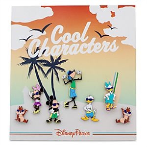 Mickey Mouse Mini Pin Set - Cool Characters