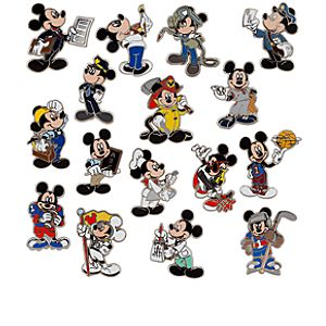Mickey Mouse Pin Mystery Set - 3 Piece