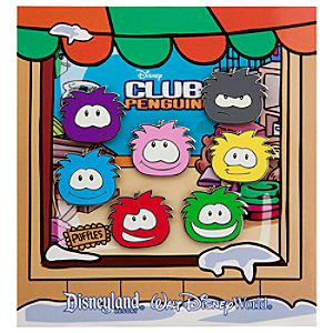 Puffles Pin Set - Club Penguin