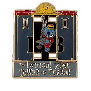 Twilight Zone Tower of Terror Stitch Pin
