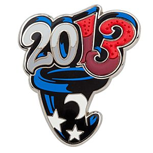 Sorcerers Hat Pin - Disney Parks - 2013