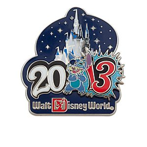 Stitch Pin - Walt Disney World - 2013