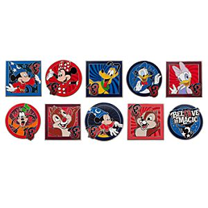 Sorcerer Mickey Mouse and Friends Mystery Pin Set - 2013 - 2-Pc.