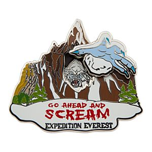 Yeti Pin - Expedition Everest - Disneys Animal Kingdom