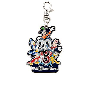 Sorcerer Mickey Mouse Lanyard Medal - Walt Disney World - 2013