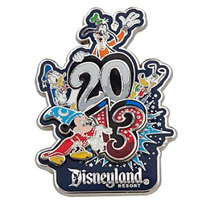 Sorcerer Mickey Mouse and Friends Pin - Disneyland - 2013