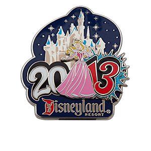 Aurora Pin - Disneyland - 2013