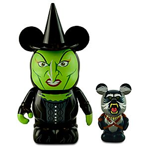 Vinylmation Oz Series Figure Set - 3 Wicked Witch of the West with 1 1/2 Flying Baboon