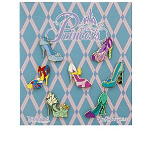 Disney Princess Slippers Pin Set
