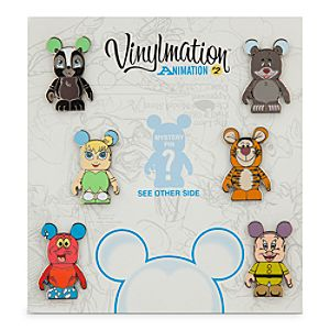 Vinylmation Animation Series 2 Pin Set