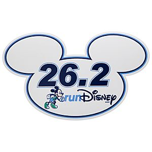 Mickey Mouse Magnet - RunDisney 26.2