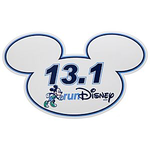 Mickey Mouse Magnet - RunDisney 13.1