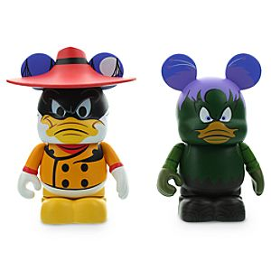 Vinylmation Disney Afternoon 2 Series 3 Figure Set - Negaduck and Bushroot