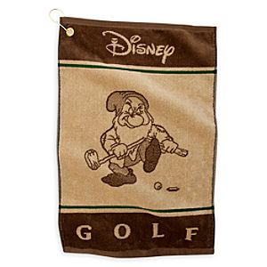 Grumpy Golf Towel