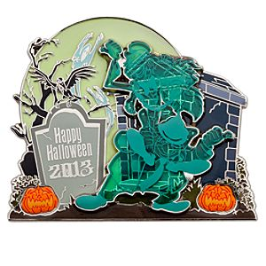 Hitchhiking Ghosts Halloween 2013 Jumbo Pin - The Haunted Mansion