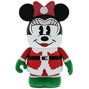 Vinylmation 3 Holiday Figure - Santa Minnie Mouse