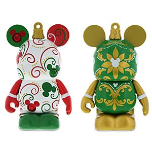 Vinylmation Holiday Ornament 3'' Figure Set