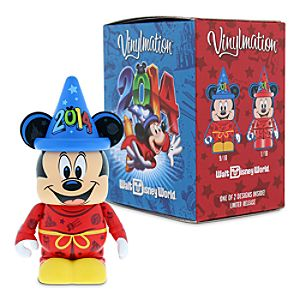 Vinylmation 3 Figure - Sorcerer Mickey Mouse - Walt Disney World 2014