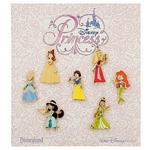 Disney Princess Mini Pin Set