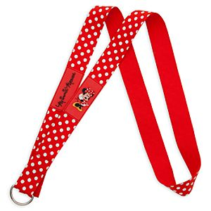 Minnie Mouse Lanyard - Small