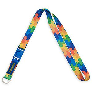 Mickey Mouse Icon Lanyard - Disneyland