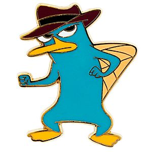 Perry as Agent P Pin