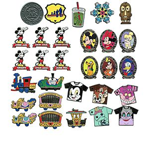 Disneyland Mystery Pin Set - 2-Pc.