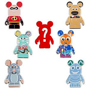 Vinylmation Disney/Pixar Series 1 Pin Set