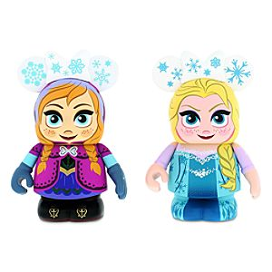 Vinylmation Frozen 3 Figure Set - Anna and Elsa