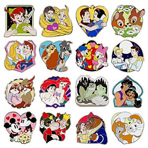 Disney Classic Couples Mystery Pin Pack