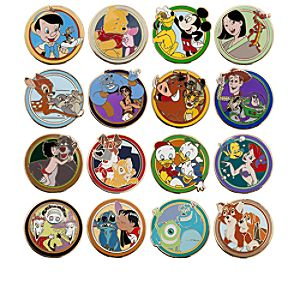 World of Disney Best Friends Mystery Pin Set
