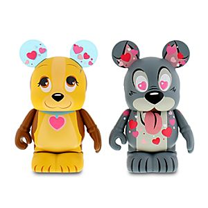 Vinylmation Valentines Day 3 Set - Lady and the Tramp