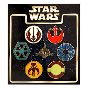 Star Wars Emblems Pin Set