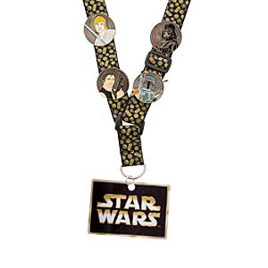 Star Wars Pin Trading Starter Set