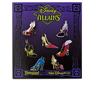 Disney Villains Designer Shoe Pin Set
