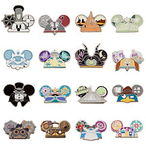 Disney Parks Ear Hat Mystery Pin Pack