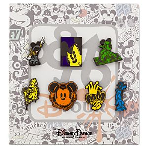 Mickey Mouse and Friends Pin Set - D-Tour