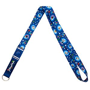 Sorcerer Mickey Mouse and Friends Lanyard - Disney Parks 2014