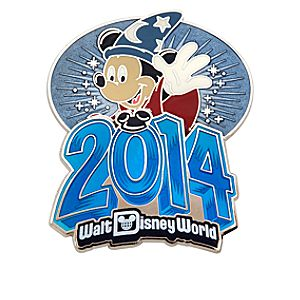 Sorcerer Mickey Mouse Pin - Walt Disney World 2014