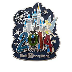 Tinker Bell at Cinderella Castle Pin - Walt Disney World 2014