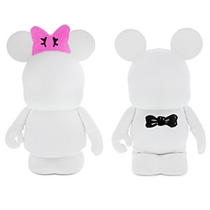 Vinylmation 3 Figure Set - Blank and Bow - Limited Availability