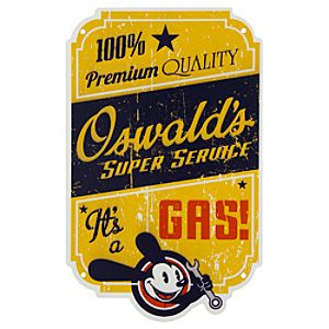 Oswald Tin Sign - Disney California Adventure