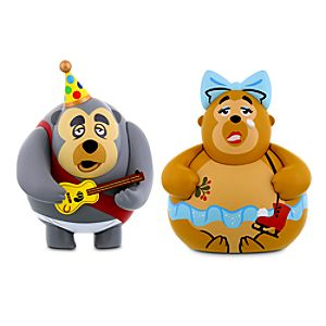 Vinylmation Park Starz 3 Series 3 Figure - Holiday Variant Set: Big Al & Trixie