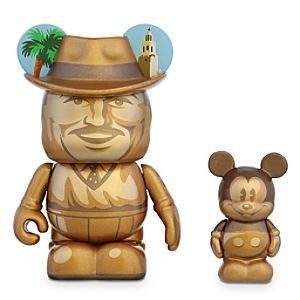 Vinylmation Storyteller 3 Figure plus 1 1/2 Junior Set - Walt Disney and Mickey Mouse