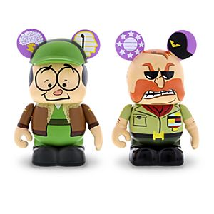 Vinylmation Cranium Command 3 Figure Set - Buzzy and General Knowledge