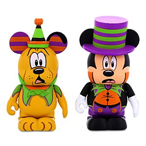 Vinylmation Mickey Mouse and Pluto Halloween Figures - 3