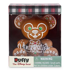 Vinylmation Holiday 2014 Duffy the Disney Bear Figure - 3